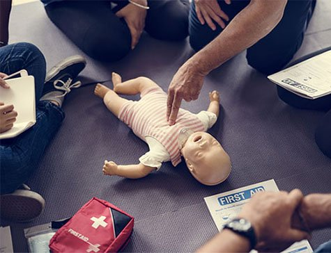 Primeiros Socorros em bebês e crianças