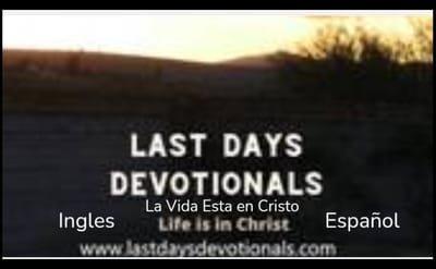 Last Days Devotionals