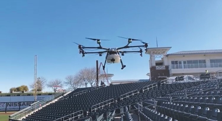 DRONE  DISINFECTING & SANITIZING