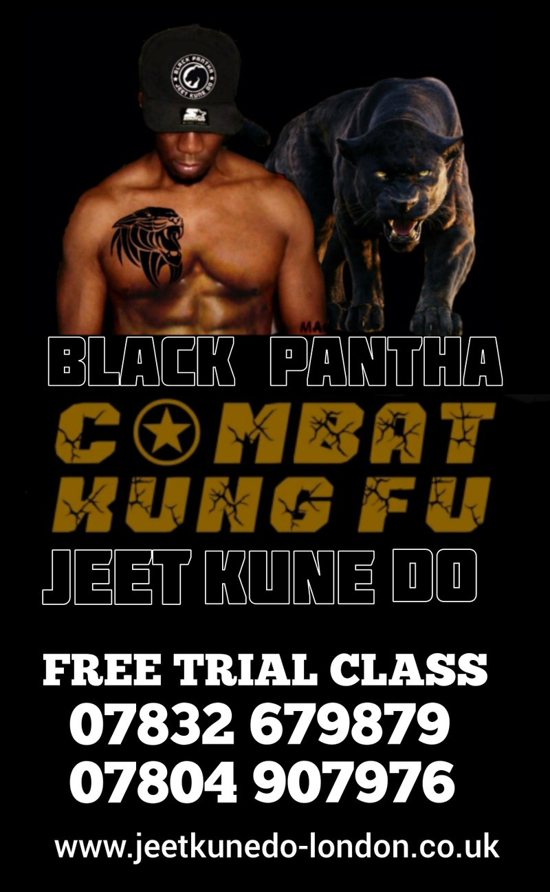 BLACK PANTHA JEET KUNE DO CLASSES