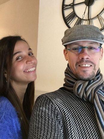 Khadidja et Jérôme