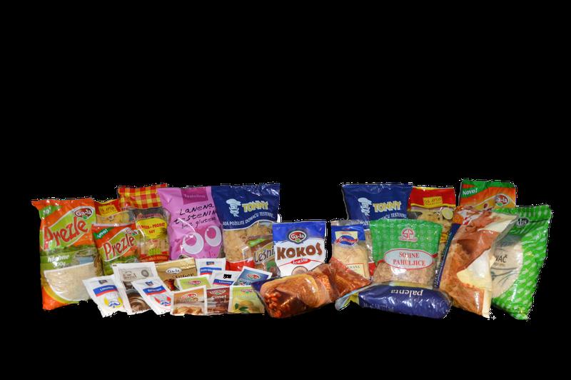Kese za pakovanje testenina, praškastih i zrnastih proizvoda
