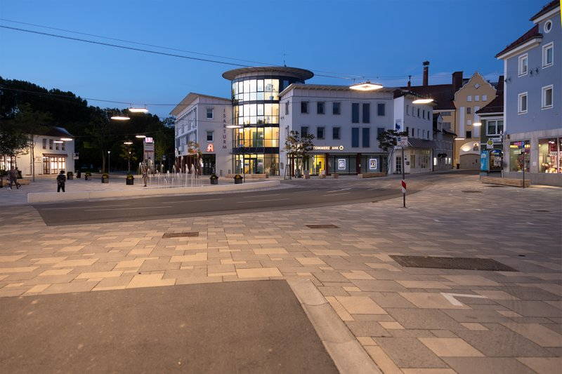 Stadtplatz Landau Isar