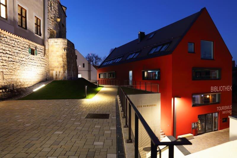 Burganlage Vohburg