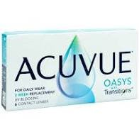 Acuvue Oasys with transitions lenzen