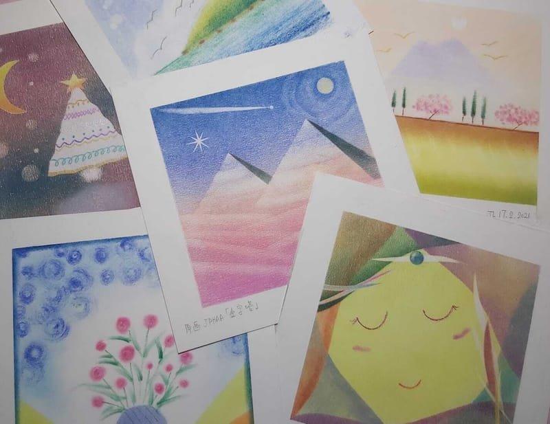 日本和諧粉彩課程