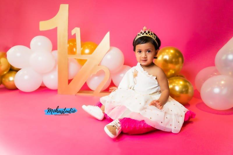 Milestone photoshoot