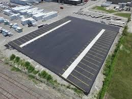 Commercial parking lot renovations