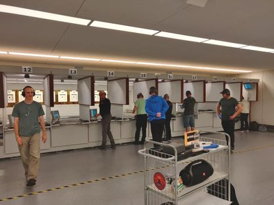Holdtræning for pistolskytter