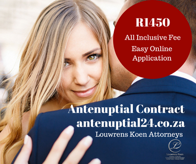 ANTENUPTIAL CONTRACT REGISTRATION - R1450
