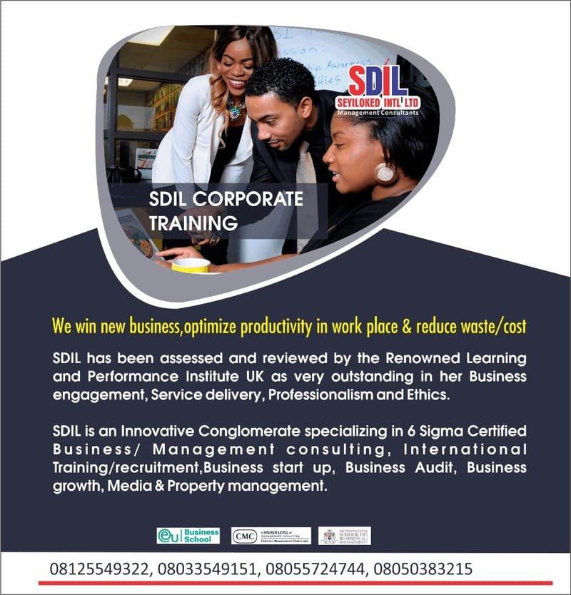 SDIL training courses  2021