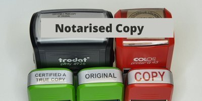 Notary Copies