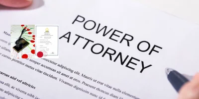 Power of Attorney - Signed in front of Notary Public