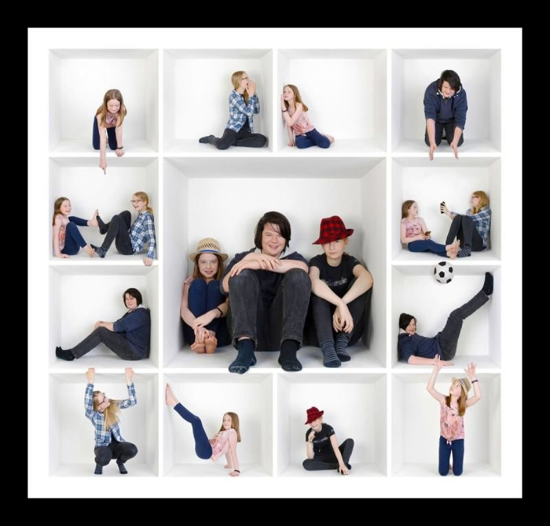 The Box Collection photoshoot - Fun Portrait Photos in Bedford