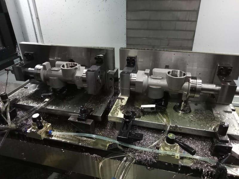 Processes parts