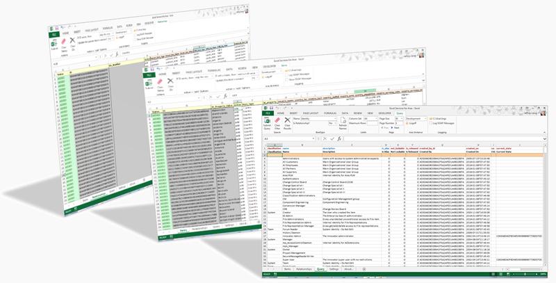 Excel Client for Aras Innovator