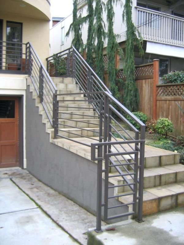 Metal handrails for properties and businesses