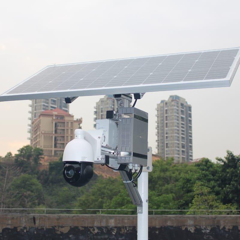 Off Grid CCTV Cameras & Solar Lights