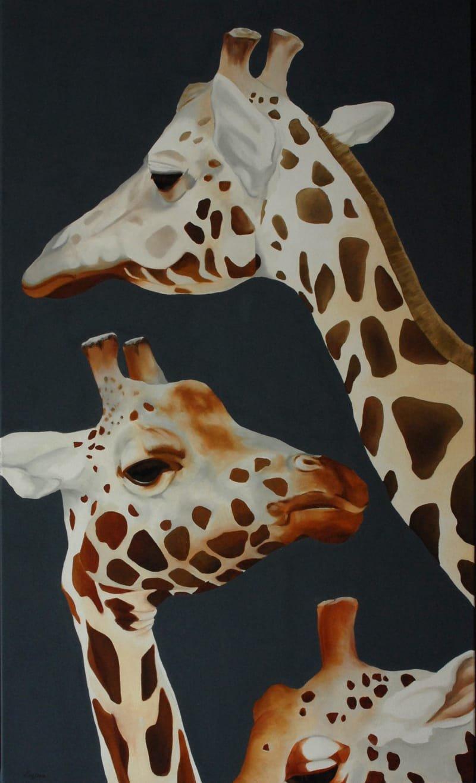 Série Girafes - 3