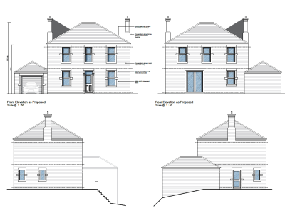 Infill house granted adjoining conservation area in glossop