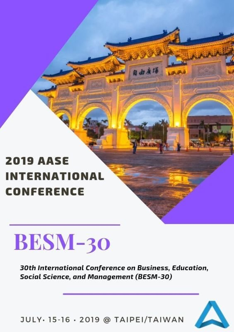 Proceedings of AASE International Conference: BESM-30