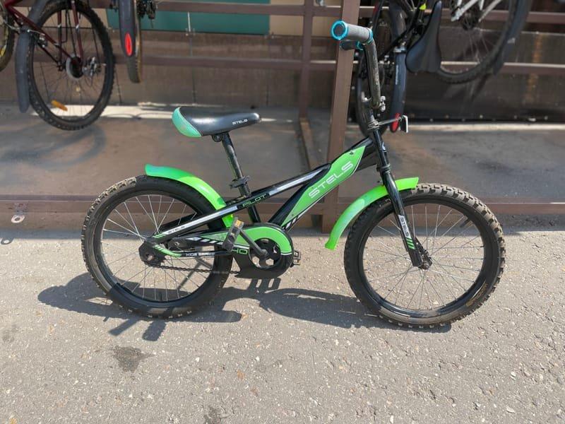 Велосипед для ребенка 120-145, 20 дюймовые колеса, без скоростей