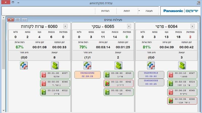 SManager - תוכנת Call Center מבית יורוקום