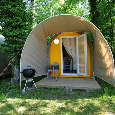 Camping Pods and Mobile Homes