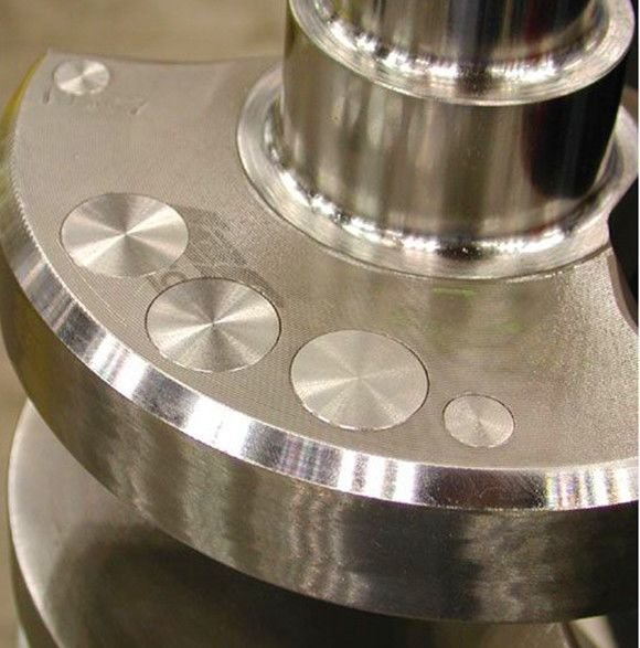 Tungsten Crankshaft Balancing